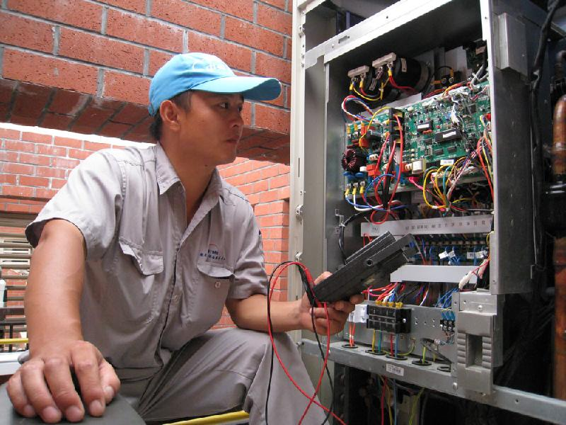 深圳大型中央空调维修